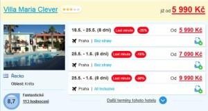 Kréta: dovolená letecky za 5 990 Kč